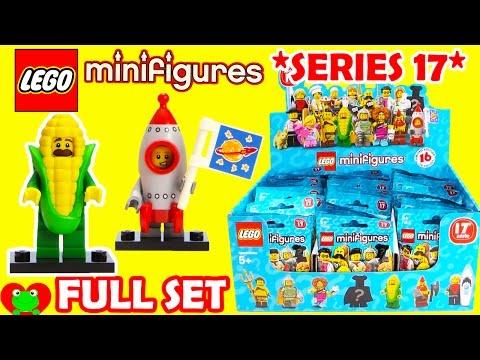 Lego Minifigures SERIES 17 Full Set 71018 (видео)