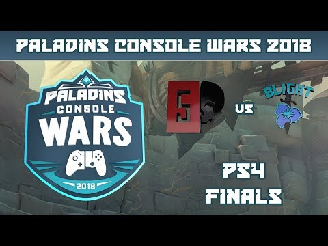 Paladins Console Wars 2018: PS4 Finals - Ghost 5 vs. Blight