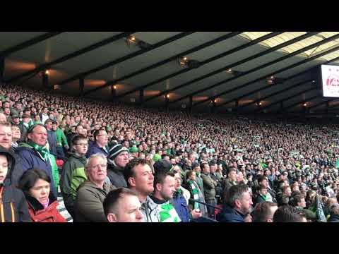 32,000 CELTIC FANS SERENADE HAMPDEN WITH THE BALLAD OF GRACE