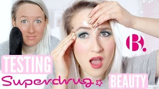 Video Testing SUPERDRUGS OWN Beauty (Makeup, Lashes, Tan, Brow Stencil) MP3, 3GP, MP4, WEBM, AVI, FLV Oktober 2018