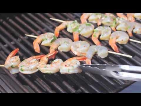 How to BBQ prawns