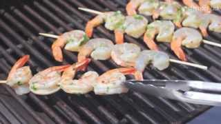 How to BBQ prawns