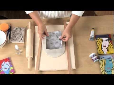 come realizzare un ritratto con la pasta polimerica