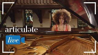 """Jazz sensation Kandace Springs serves up an intimate performance of her song """"Soul Eyes."""""""