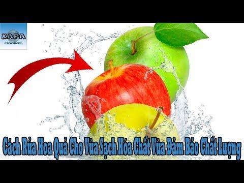 Cách Rửa Hoa Quả Cho Vừa Sạch Hóa Chất Vừa Đảm Bảo Chất Lượng