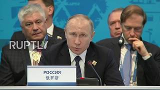 Russian President Vladimir Putin says