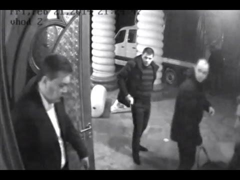 Втеча Віктора Януковича з Межигір'я (видео)