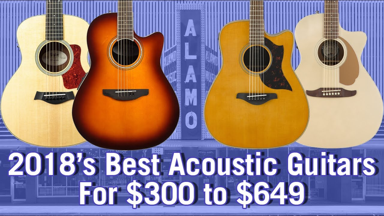 2018 Best Acoustic Guitars For $300 to $649 – Buyer's Guide And Comparison
