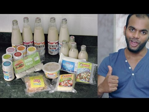 THIS INDIAN BRAND IS 100% VEGAN! | Chetrans Soy Products Review | Honest Reviews