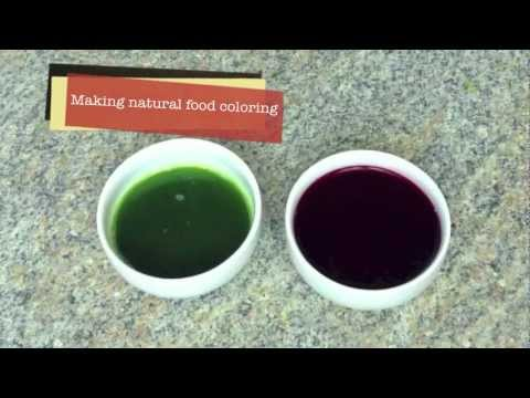 Recipe on How to Make Natural Food Coloring – Pandan Leaf Green and Beet Red