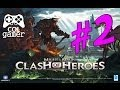 Might Magic: Clash Of Heroes Parte 2 gameplay xbox 360