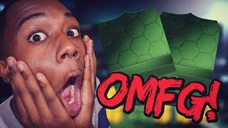 OMFASDFG! GREEN CARD IN A 50K PACK!! - FIFA 14 ULTIMATE TEAM PACK OPENING