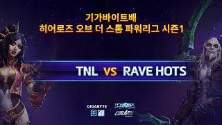 파워 리그 4강 패자전 1부 TNL VS RAVE HOTS