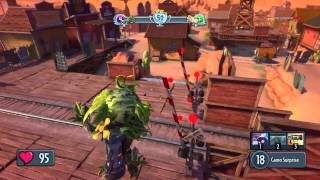 Геймплей Plants vs Zombies Garden Warfare