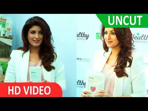 UNCUT- Twinkle Khanna At Launch Of Godrej Nature's Basket 'Healthy Alternatives' A Unique Range