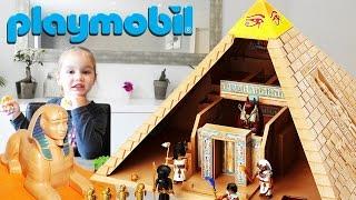 Video Playmobil Pyramide Sphinx et Pharaon d'Egypte Set 4240 (Unboxing) MP3, 3GP, MP4, WEBM, AVI, FLV Juli 2017