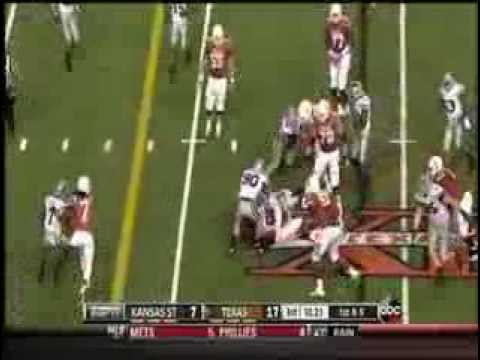 Jonathan Gray vs Kansas St. 2013 video.