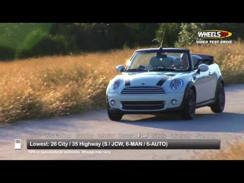 2014 MINI Cooper Convertible Test Drive (видео)