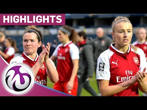 Reading 0 - 0 Arsenal | Arsenal Held Away To Reading| FA WSL Official Highlights