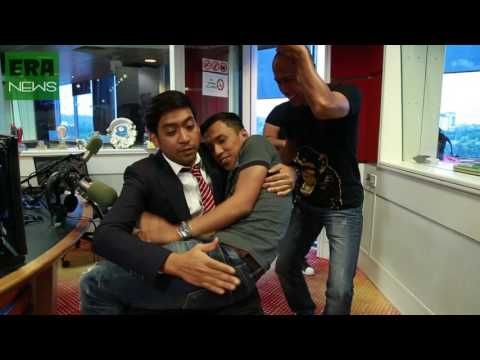 Anak Penyampai Radio Kacau Masa Haniff Live - Parodi BBC News