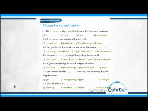 English - unit 6  01-Exercises on Grammar