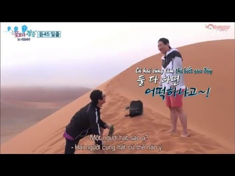 [Vietsub] Youth Over Flowers Africa (Ep.2 Cut) - 2 anh em ngốc nghếch