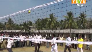 Video Poduru Lo Volleyball with Sri Peetani Satyanarayana garu and Others MP3, 3GP, MP4, WEBM, AVI, FLV Agustus 2018