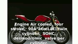 2. 2009 Ducati Streetfighter S -  Specs Top Speed Dealers superbike Details Specification