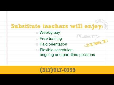Become a Substitute Teacher