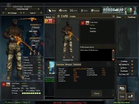[ MK13 ]Review ID SF1 Dragunov-C (ดากุนอฟทอง) 1 ดาวแดง