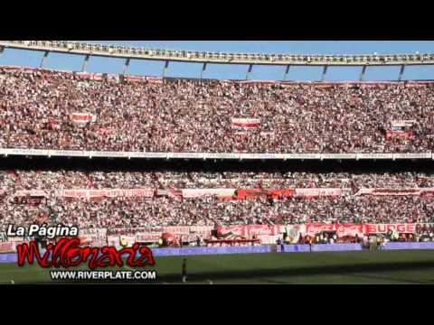 """Video - """"Ole ole ole ola, jugando bien o jugando mal..."""" River Plate - Los Borrachos del Tablón - River Plate - Argentina"""