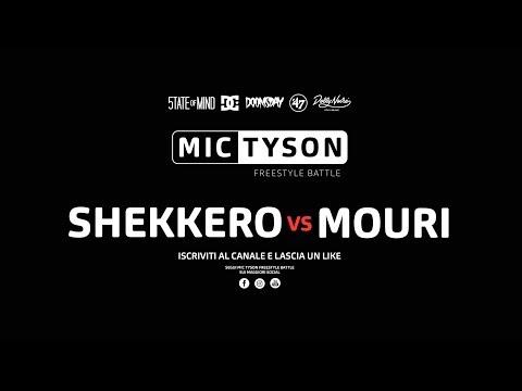 Mic Tyson - Freestyle Battle 2017 ||  Shekkero vs Mouri (ottavi di finale, turno 8) (видео)