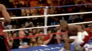 Mayweather's knocked down and lost