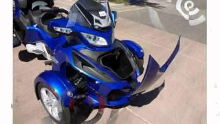 10. 2012 Can-Am Spyder Roadster RT - Review, Info