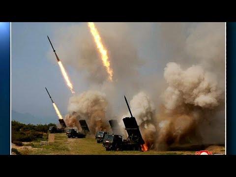 Nordkorea: Test von Raketen und Lenkwaffen - ein Zeiche ...