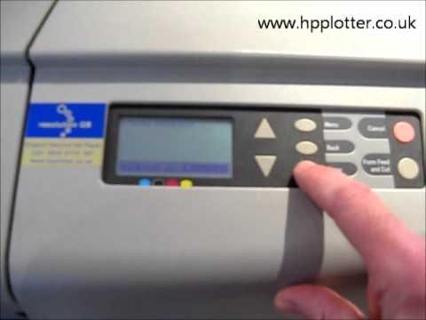 HP Designjet 500 repair - Adding printer to a network