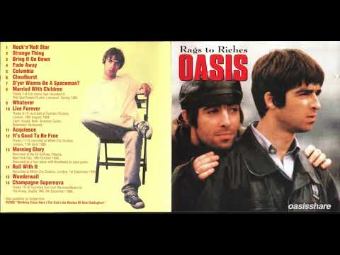 Oasis - Rags To Riches Bootleg (Silver-Pressed CD) [Lossless HD Rip]