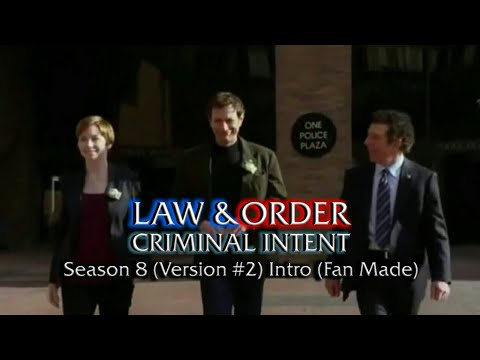 Law & Order: Criminal Intent: Season 8 (Version #2) Intro (Fan Made)