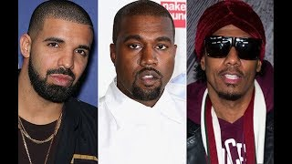 Kanye West Calls Out Drake, Nick Cannon & Tyson Beckford For Talking Down On His Wife,Kim Kardashian