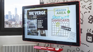 Google Jamboard: a surprisingly fun 4K 'whiteboard'