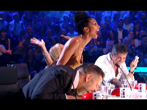 ROFL! Golden Buzzer Comedian Makes Judges Can't Stop LAUGHING!  | Semi Final 5 | BGT 2017 (видео)