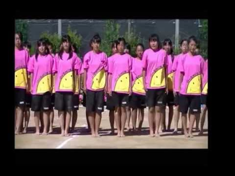 寝屋川市立友呂岐中学校32期生体育大会女子ダンス