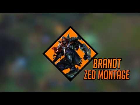 The Unseen Blade  Brandts Zed Montage  League Of legends