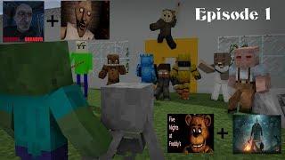 Video Monster School : Baldi's Jason Granny Grandpa FNAF Episode 1 - Minecraft Animation MP3, 3GP, MP4, WEBM, AVI, FLV Agustus 2018