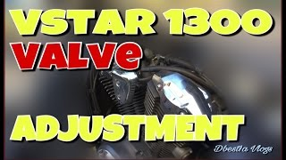 4. Vstar 1300 Valve Adjustment B) Vlog #161