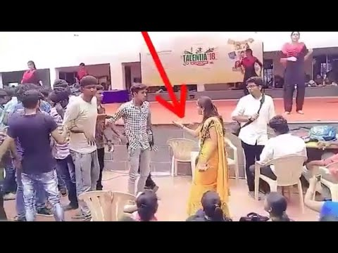 Video Trichy college student funny dance with HOD download in MP3, 3GP, MP4, WEBM, AVI, FLV January 2017