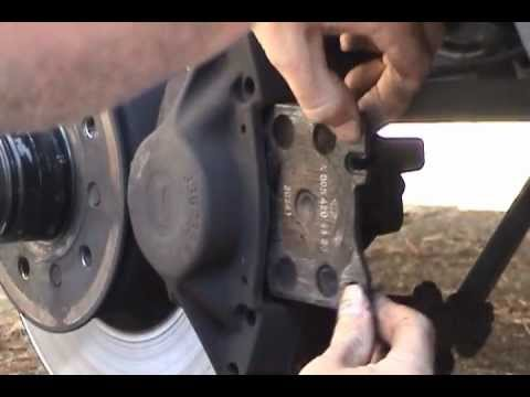 1991 Mercedes-Benz 420 SEL Brake Pad Replacement