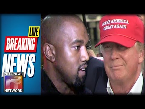 BREAKING: Kanye Walks Into the Trump's OVAL OFFICE And Instantly EVERYONE Notices Who Is With Him