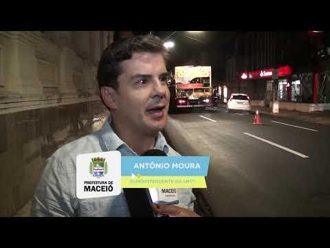 Nova Maceió leva nova infraestrutura para ruas do Centro