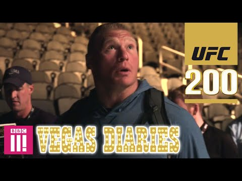 UFC 200  Vegas Diaries with Dan Hardy  Open Workouts, Weigh ins, Parties